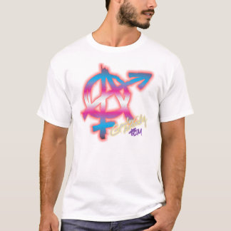 Gender Anarchy (front print) - Trans colors shirt