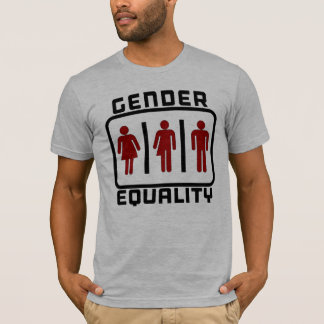 GENDER EQUALITY: Gender Neutral LGBT Toilet Law T-Shirt