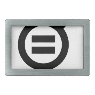 Gender Equality Symbol Belt Buckle