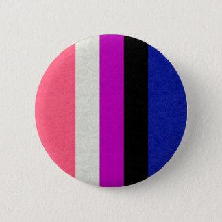 Gender Fluid Flag 2 Inch Round Button