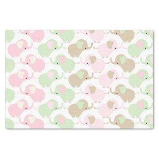 Gender Neutral Cute Baby Elephant Tissue Paper