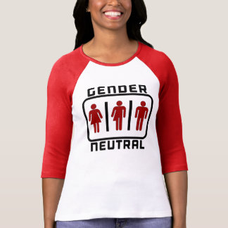 GENDER NEUTRAL: LGBT Toilet Rights Political Issue Tee Shirt