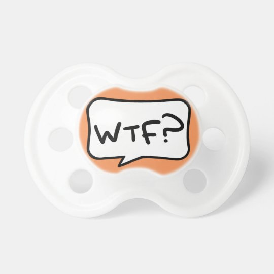 Gender-neutral WTF? Pacifier