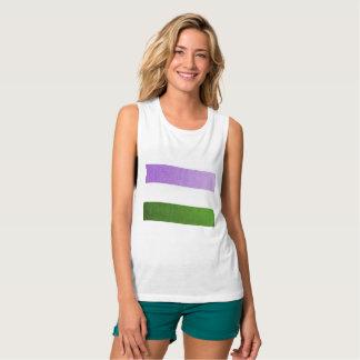 Gender Queer Flag Women's Tee