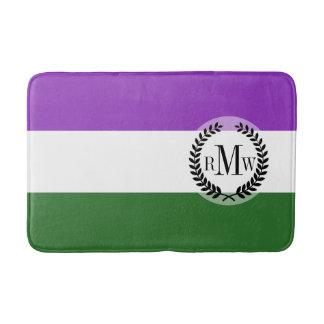 Gender Queer Pride Flag Bathroom Mat