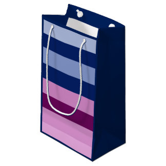 "Gender Reveal ""Boy or Girl"" Pink and Blue Gift Bag"