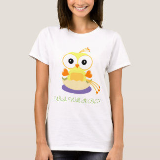 Gender Reveal Party - Yellow Bird Hatching Egg T-Shirt