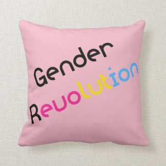 Gender Revolution LGBTQ Pansexual Awareness Pillow