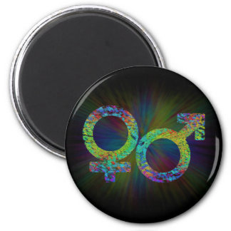 Gender symbols. magnet
