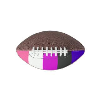 Genderfluid Pride Flag Football