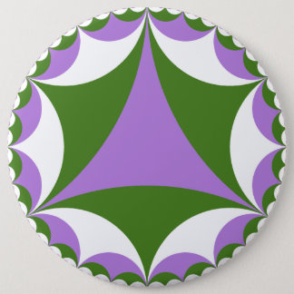 Genderqueer fractal button