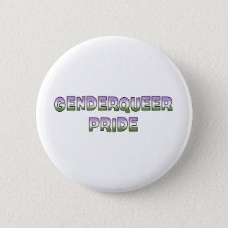 Genderqueer Pride 2 Inch Round Button