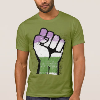 Genderqueer Pride and Power T-Shirt