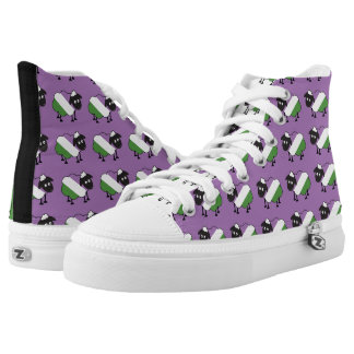 Genderqueer Pride Cute Sheep LGBT High Tops
