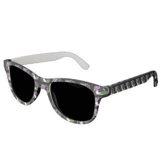 Genderqueer Pride Panda LGBTQIA Sunglasses