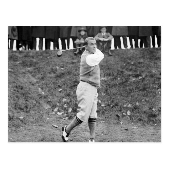 Gene Sarazen, 1922 Postcard