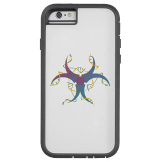 Gene Splicing Bio Hazard Symbol Tough Xtreme iPhone 6 Case