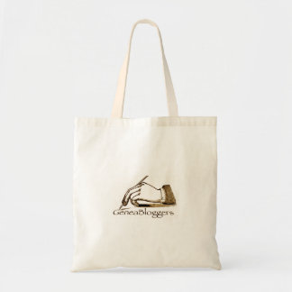 GeneaBloggers Logo Bag