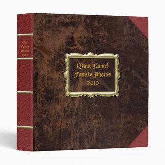 Généalogie faite sur commande simili cuir vintage