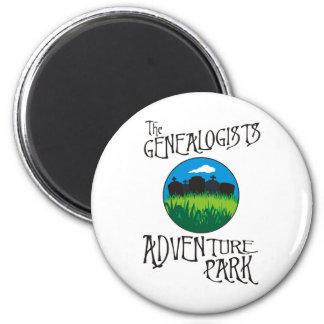 Genealogists Adventure Park Magnet