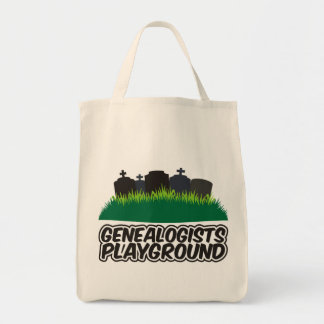 Genealogists Playground Tote Bag