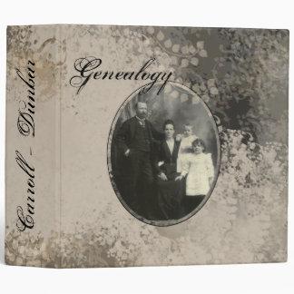 Genealogy Album Binders