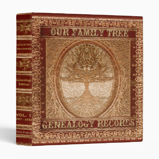 Genealogy Family Tree Binders