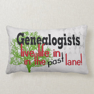 genealogy family tree with quote lumbar pillow