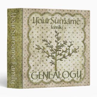 Genealogy Green Binder