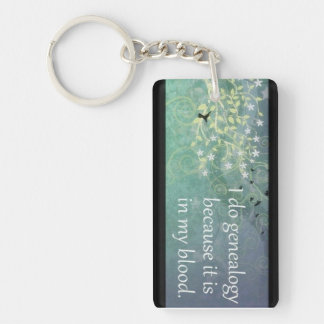Genealogy Keychain