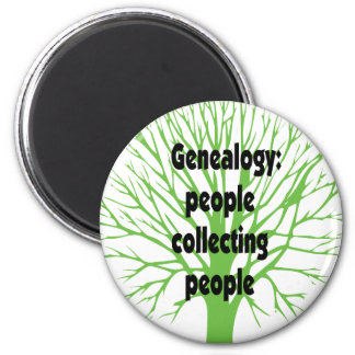 Genealogy: People Collecting People Magnet