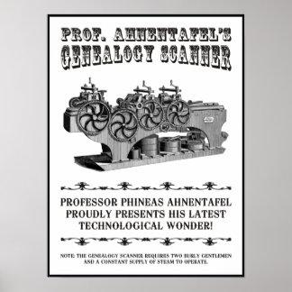 Genealogy Scanner Poster