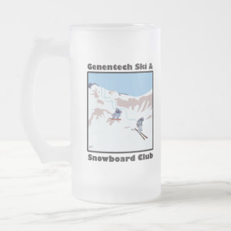 Genentech Ski and Snowboard Club Mug