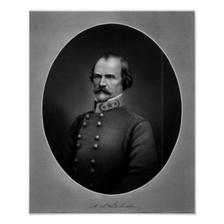 General Albert Sidney Johnston Poster