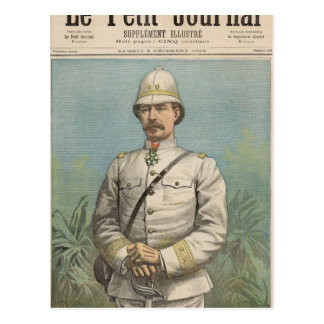 General Alfred Amedee Dodds  in Dahomey Postcard