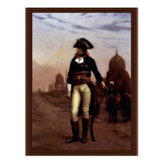 General Bonaparte In Cairo By Gérôme Jean-Léon (Be Postcard