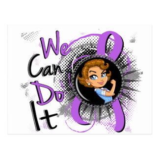 General Cancer Rosie Cartoon WCDI.png Postcard