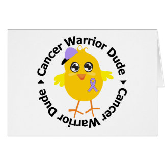 General Cancer Warrior Dude Cards