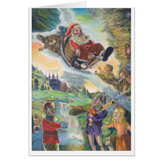 general card with christmas emphasis