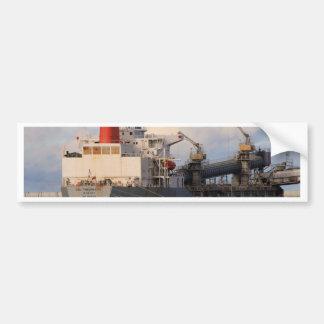 General cargo ship bumper sticker