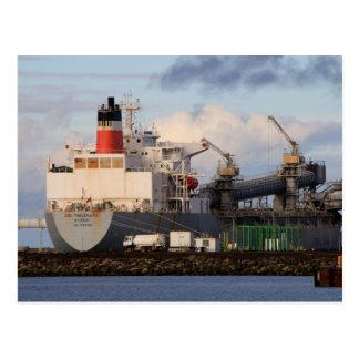General cargo ship postcard