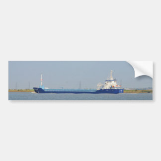 General Cargo Ship Zeeland Bumper Sticker