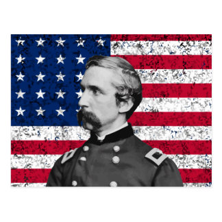 General Chamberlain and The American Flag Postcard