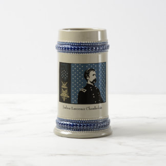 General Chamberlain and the Medal of Honor Beer Steins