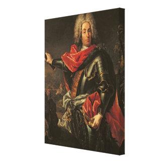 General Count Johann Matthias von der Schulenburg Canvas Print