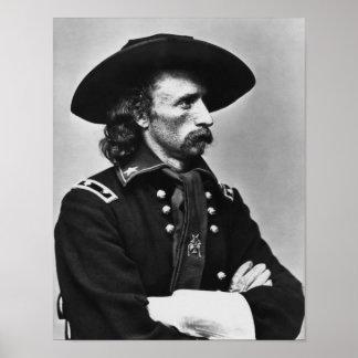 General Custer - Civil War Poster