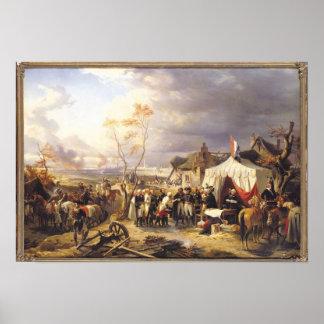 General De La Morliere Receiving the Surrender Poster