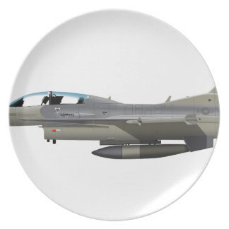 General Dynamics F-16C Falcon AZ ANG 880156 Dinner Plate