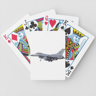 General_Dynamics_F-16C_Fighting_Falcon_(401),_USA_ Bicycle Playing Cards