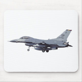 General_Dynamics_F-16C_Fighting_Falcon_(401),_USA_ Mouse Pad